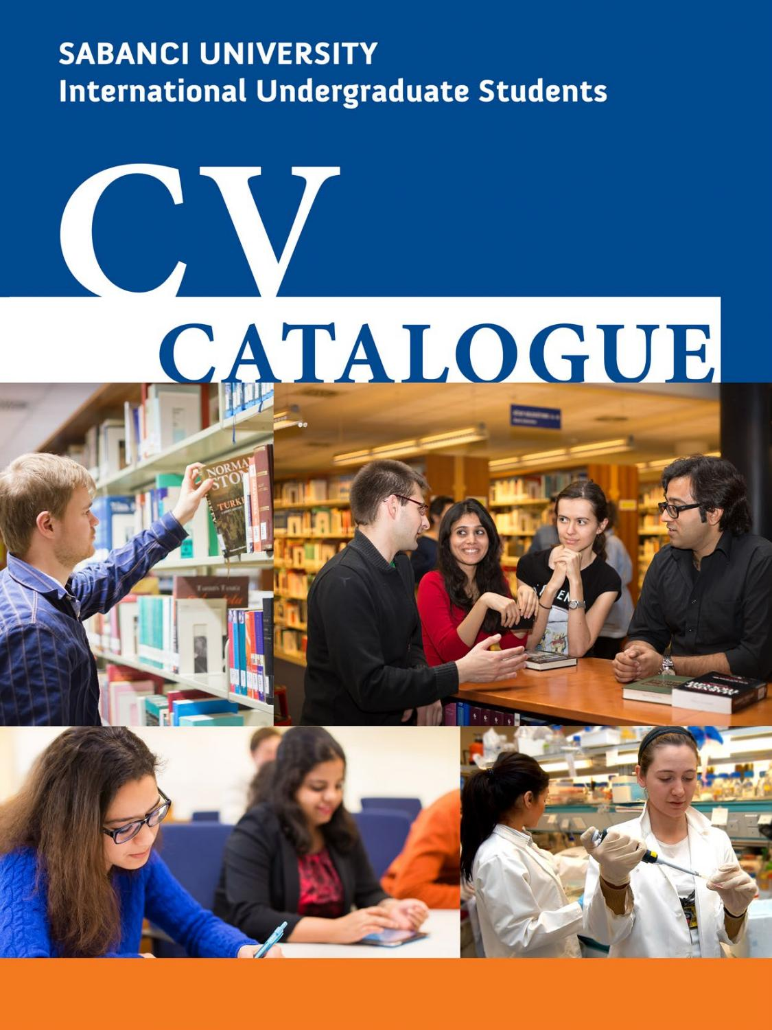 cv catalogue for international students 2017 by