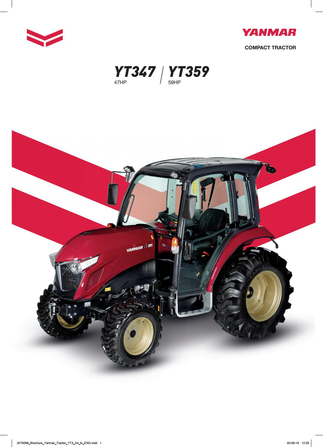 yanmar brochure tractor by 0to9 cross creative agency issuuyanmar fuse box  conversion kit #16