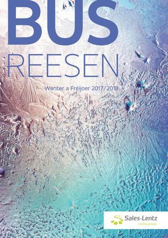 Sales Lentz Busreesen Wanter 2017 2018 By WLTT Sa
