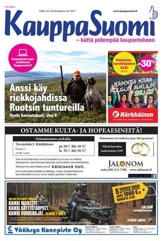 reputable site c0a06 443e8 KauppaSuomi 30 2017 (E) by KauppaSuomi - issuu