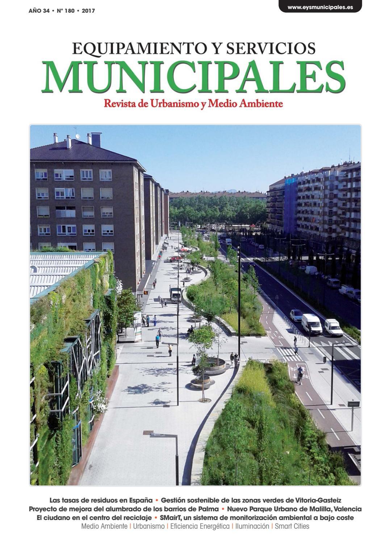 Equipamiento y Servicios Municipales nº180 by Equipamiento y ...