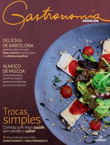 Revista Gastronomia Angeloni , Edição 01