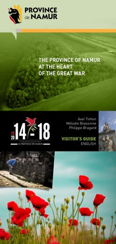 The province of namur at the heart of the great war by Tourism