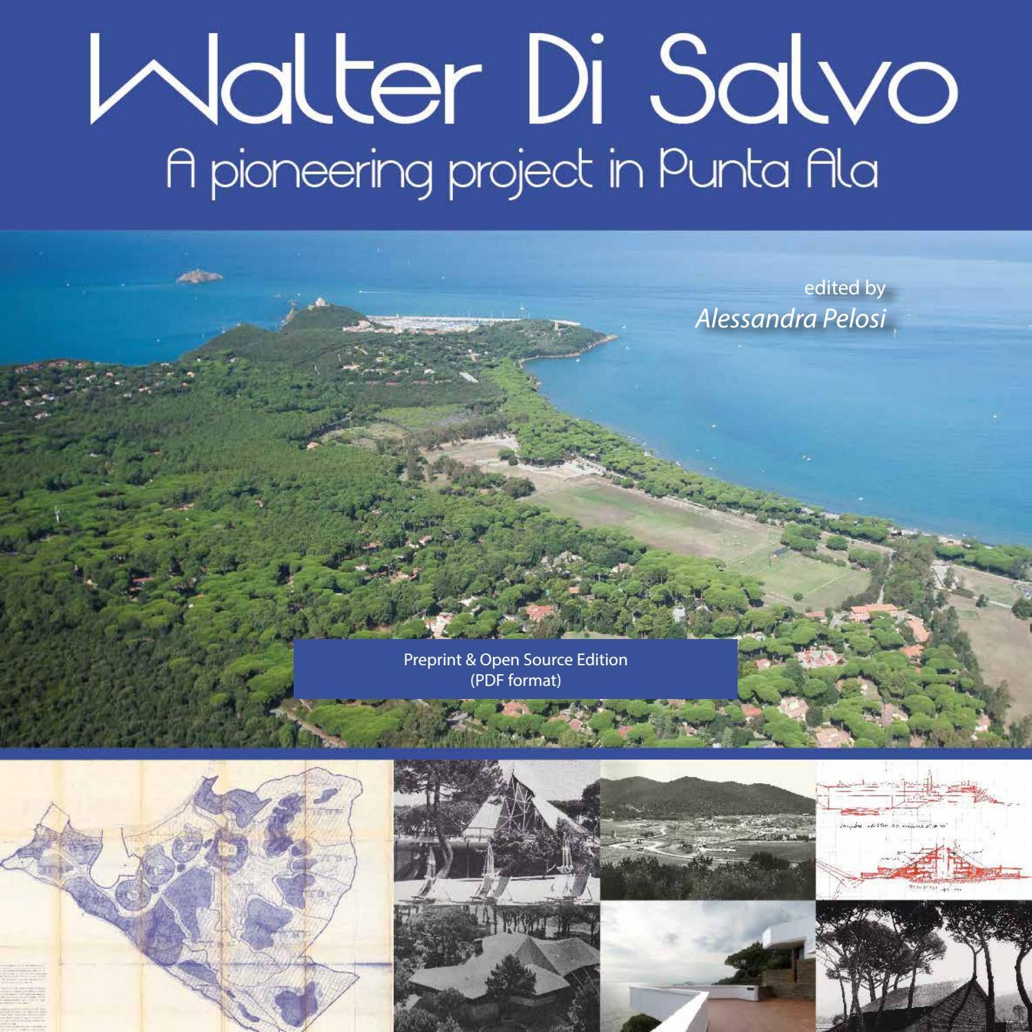 Walter Di Salvo. A pioneering project in Punta Ala (PREPRINT) by ...