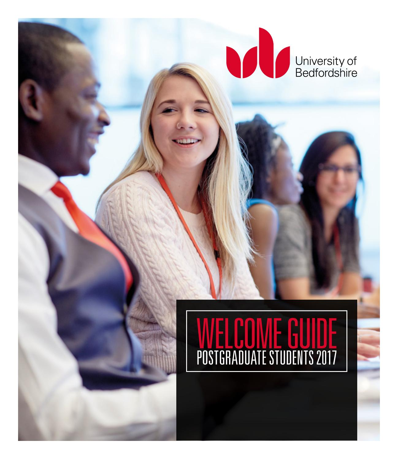 Postgraduate Student Welcome Guide 2017 By University Of