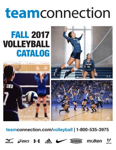 Fall 2017 Volleyball Catalog by Team Connection issuu