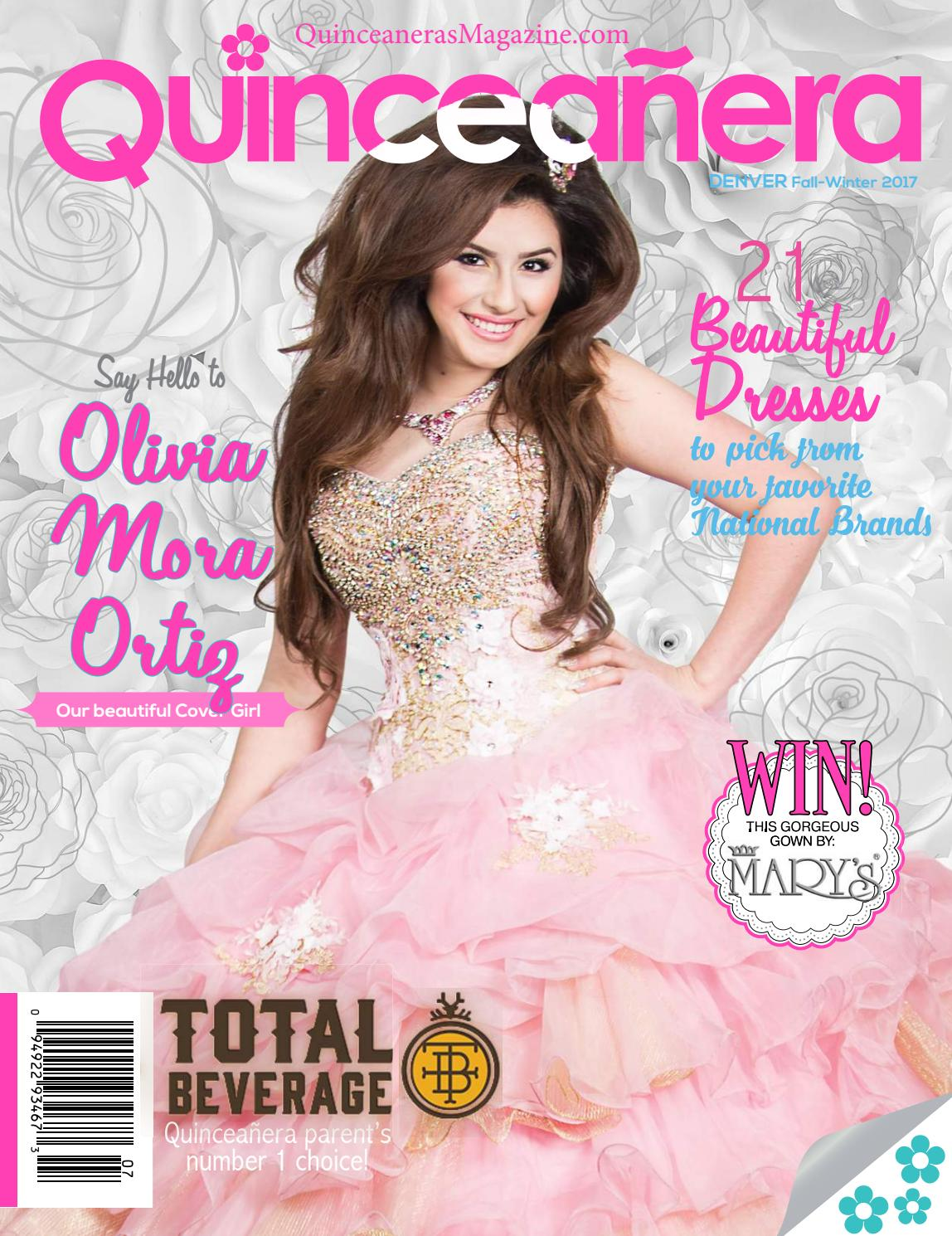 Quinceaneras Magazine Denver Fall Winter 2017 by QUINCEANERAS ...