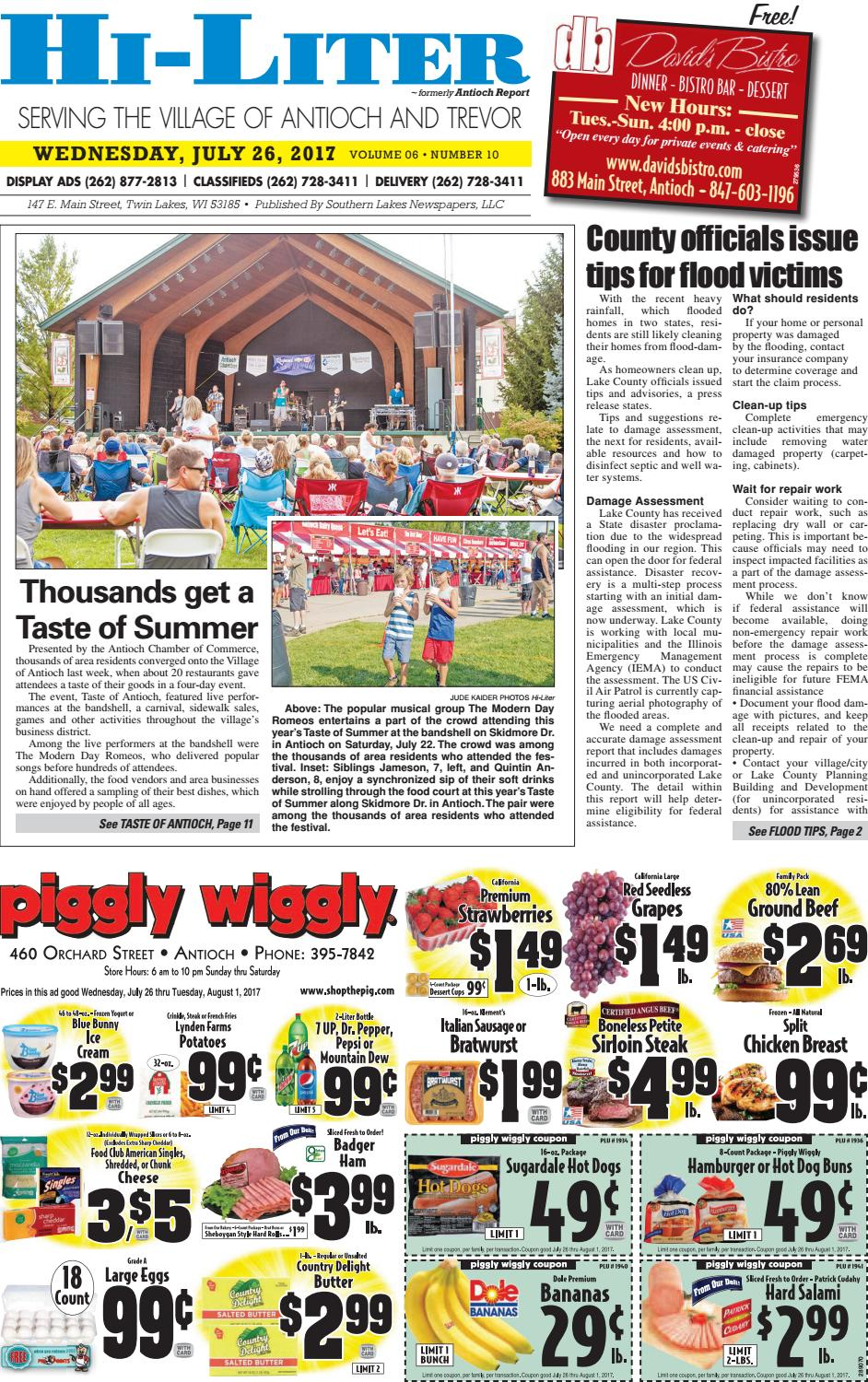 Ilhl 7 26 17 by Southern Lakes Newspapers / Rock Valley
