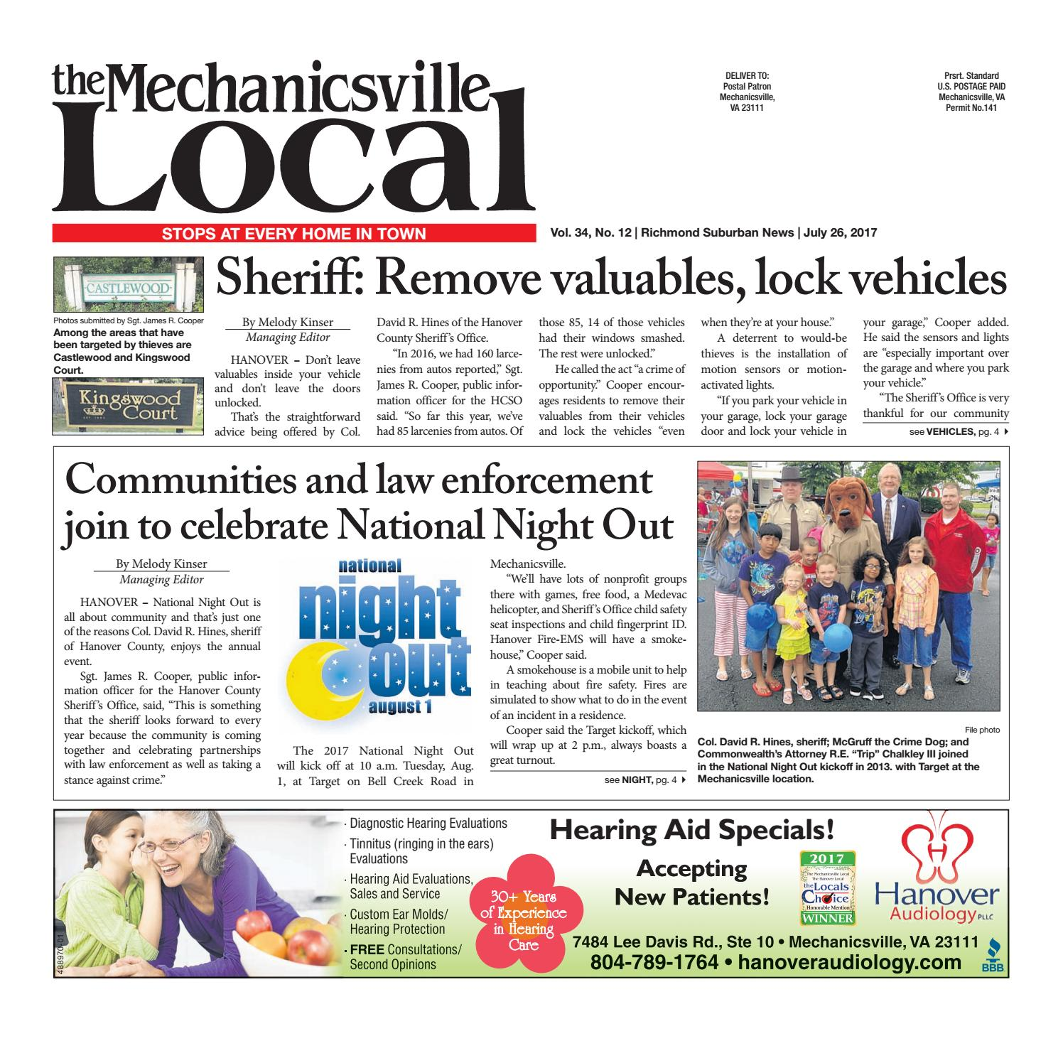 07 26 17 By The Mechanicsville Local