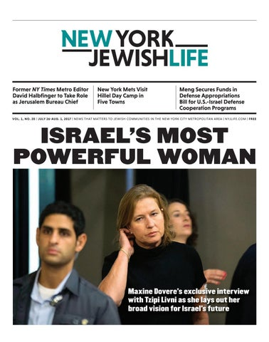 The July 26 Edition Of New York Jewish Life By New York Jewish Life