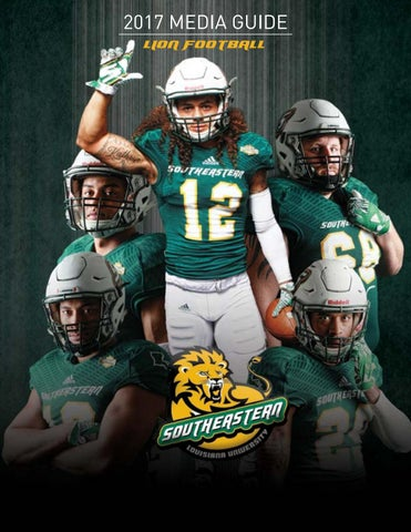 ffa234c68cf 2017 SLU Football Media Guide by Southeastern Louisiana University ...