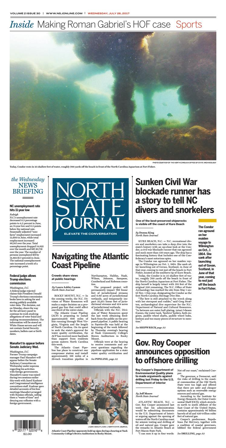 North State Journal — Vol  2 , Issue 30 by North State