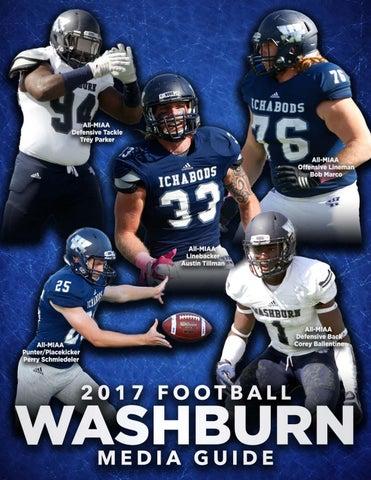 2017 Washburn Ichabod Football Media Guide by Washburn
