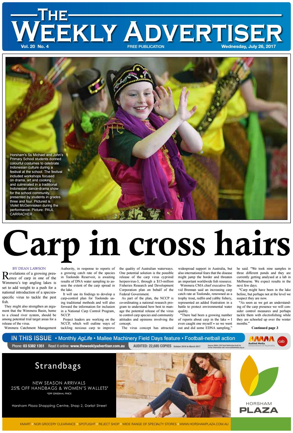 The Weekly Advertiser - Wednesday fe2dc2d996