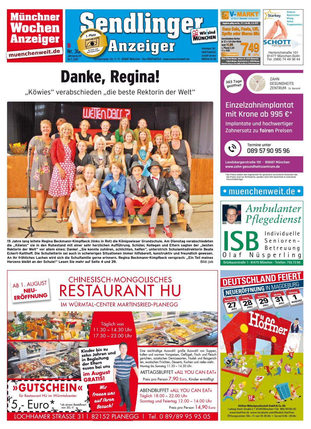 KW 30-2017 by Wochenanzeiger Medien GmbH - issuu