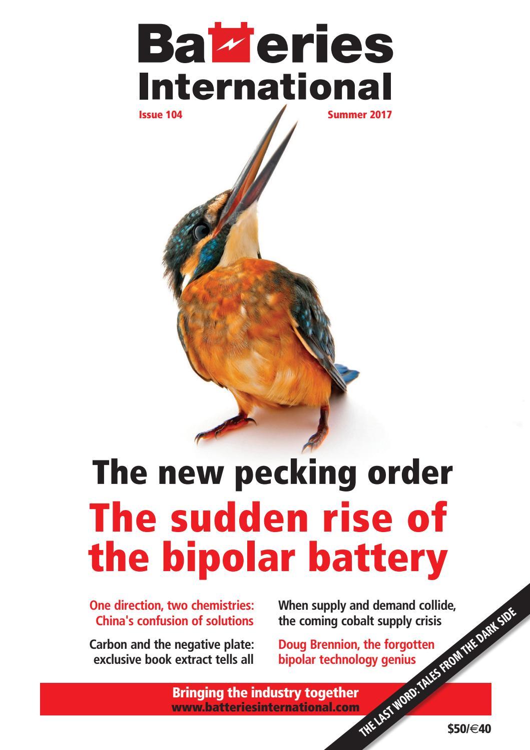 Batteries International Magazine 104 Issue By Hamptonhalls Issuu Bipolar Input Long Term Integrator