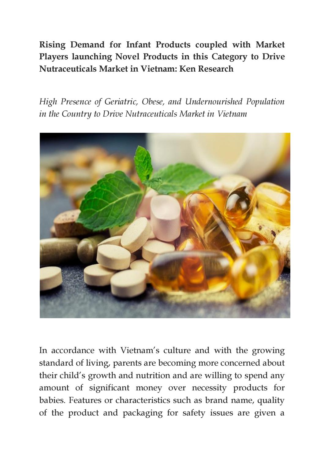 Herbal supplements market in vietnam,omega 3 fatty acid