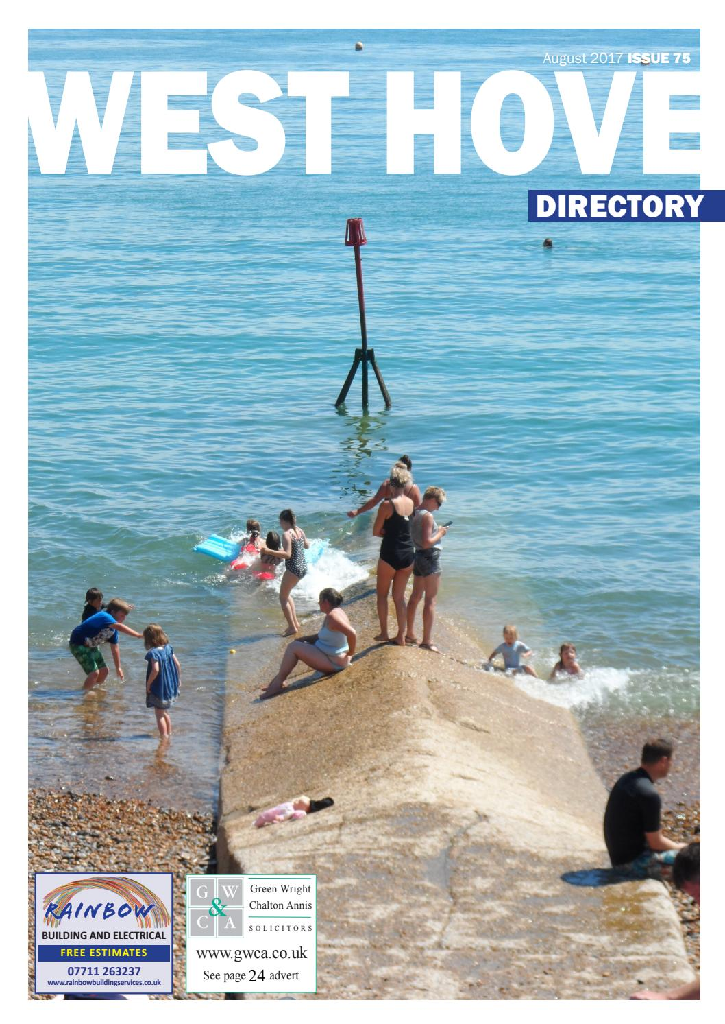 West Hove Directory August 2017 by Sussex Magazines - issuu