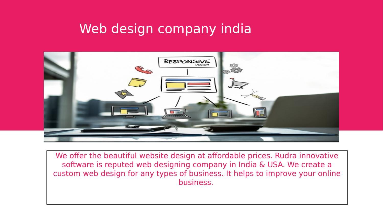 Web Design Company India By Rockyus Issuu
