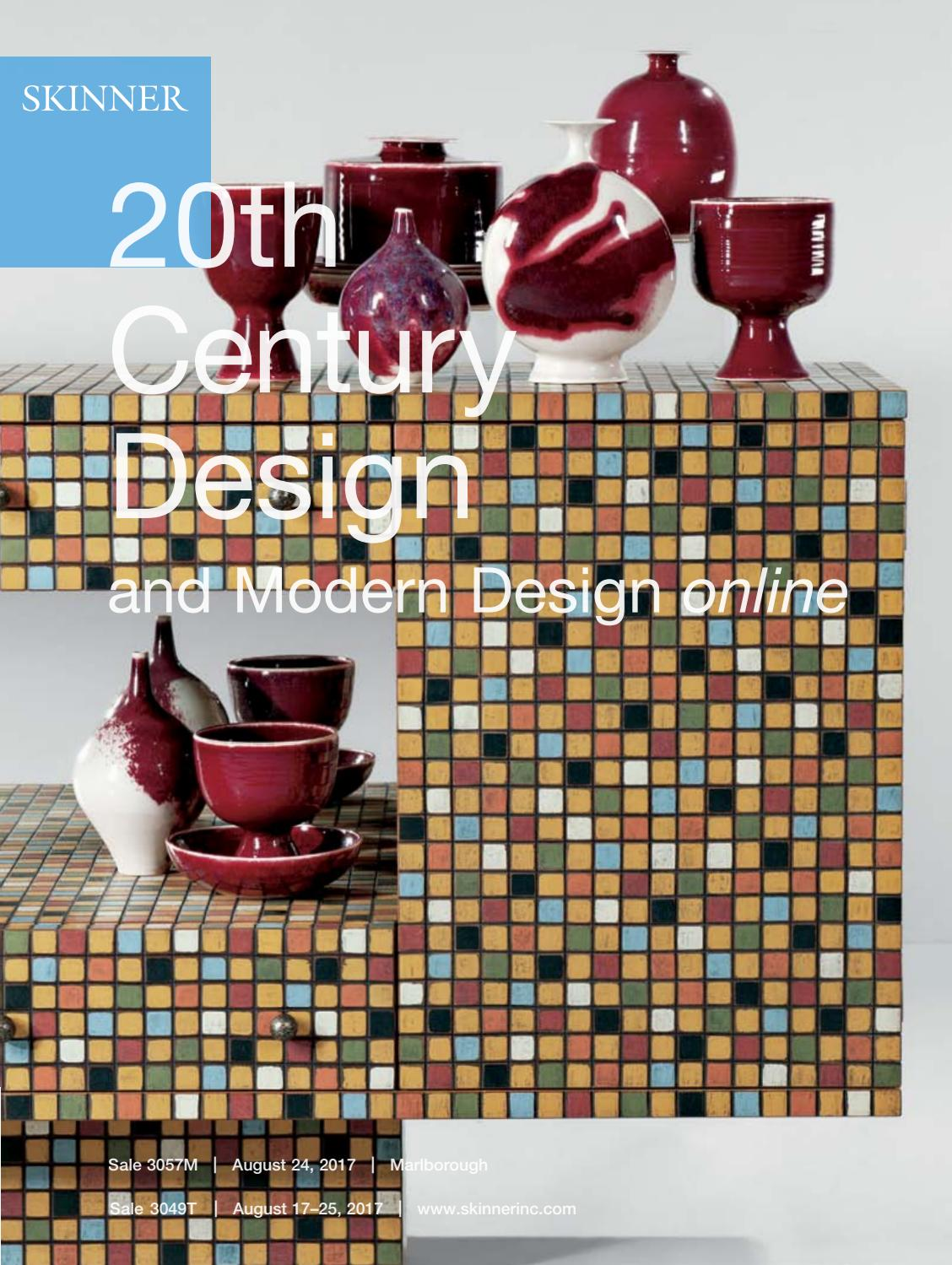 20th Century Design & Modern Design Online | Skinner Auctions ...