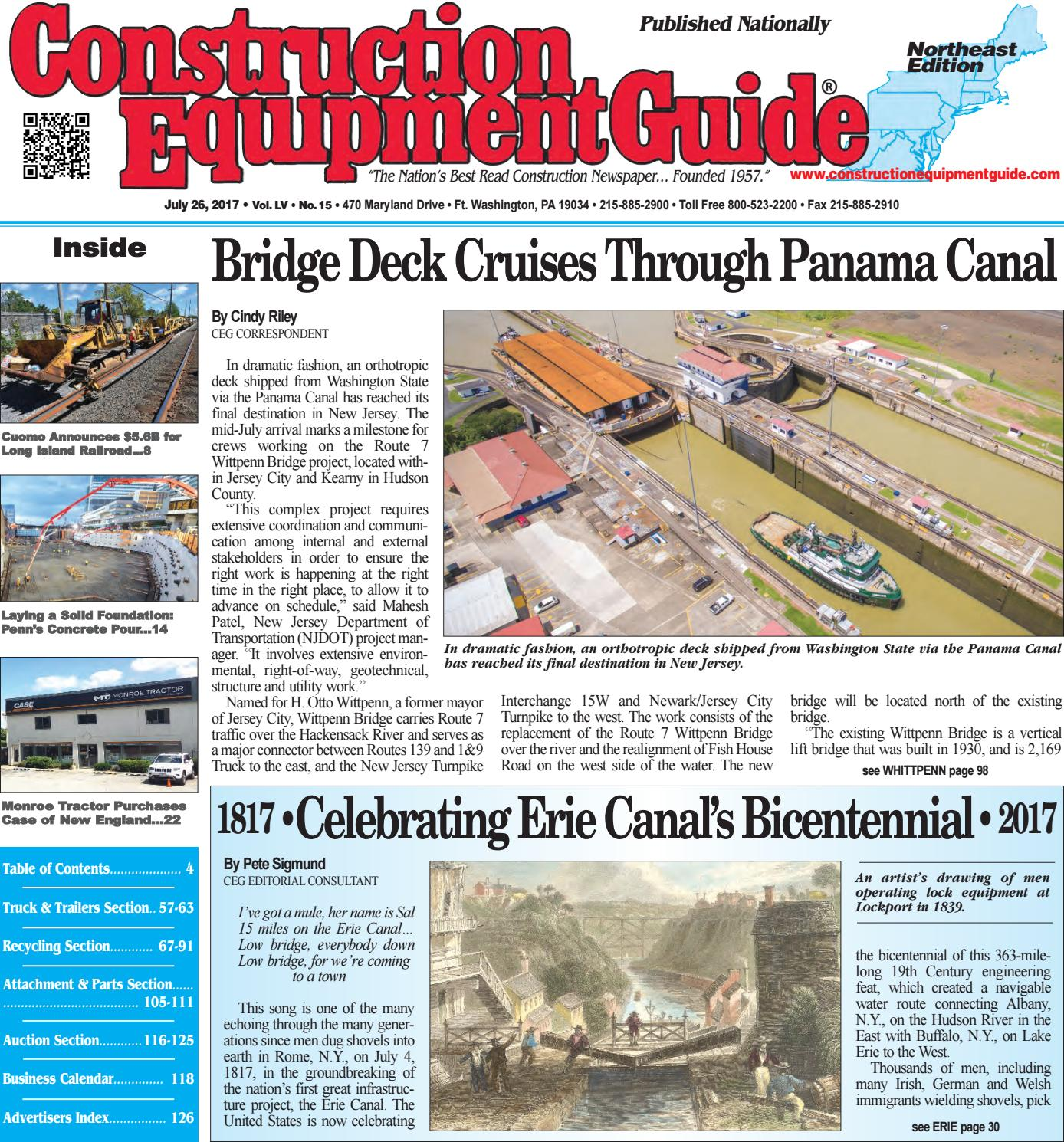 northeast 15 july 26 2017 by construction equipment guide issuu