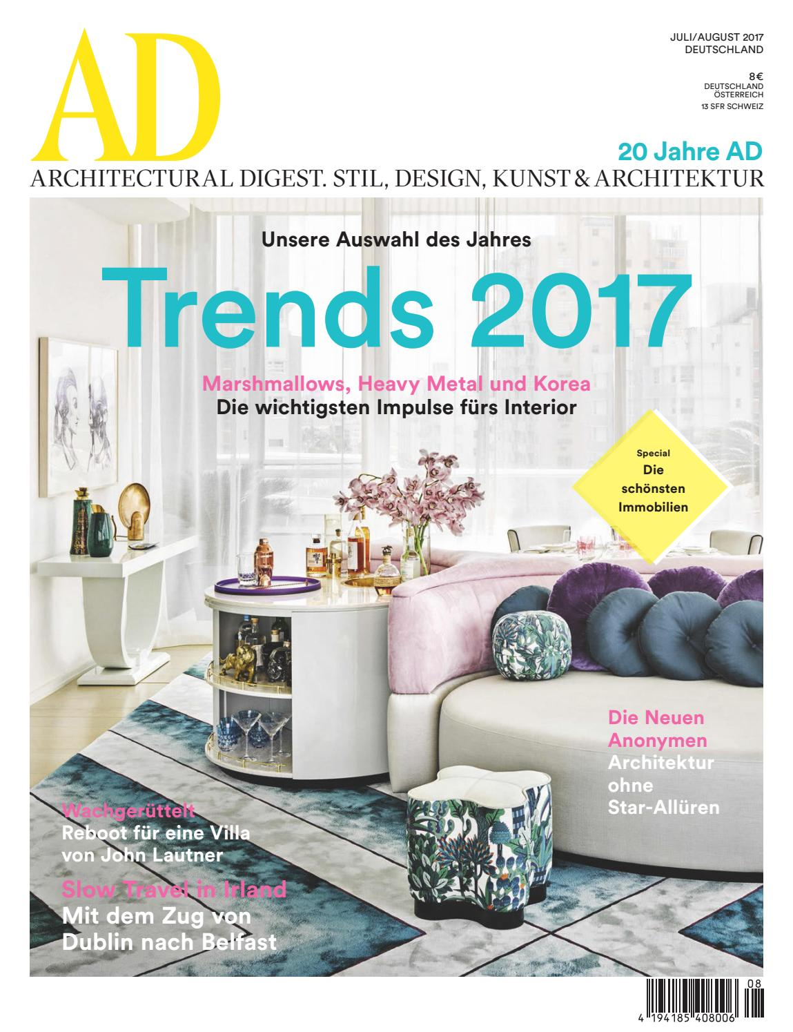 ad 07 08 2017 by ad architectural digest issuu. Black Bedroom Furniture Sets. Home Design Ideas