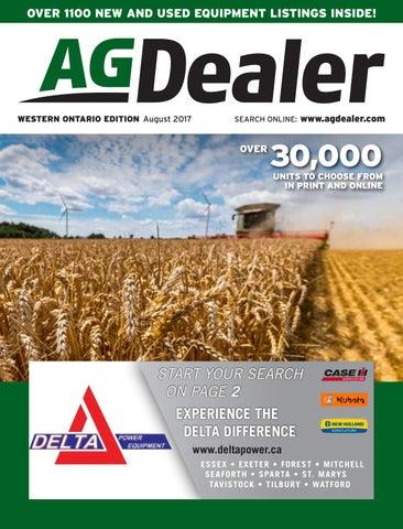 AGDealer Western Ontario Edition, August 24, 2017 by Farm