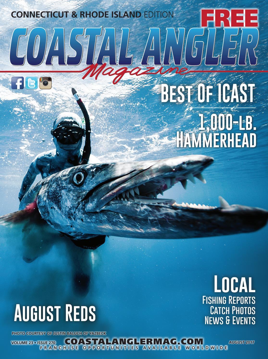 08eff71f869 Coastal Angler Magazine - August   Rhode Island Connecticut by ...
