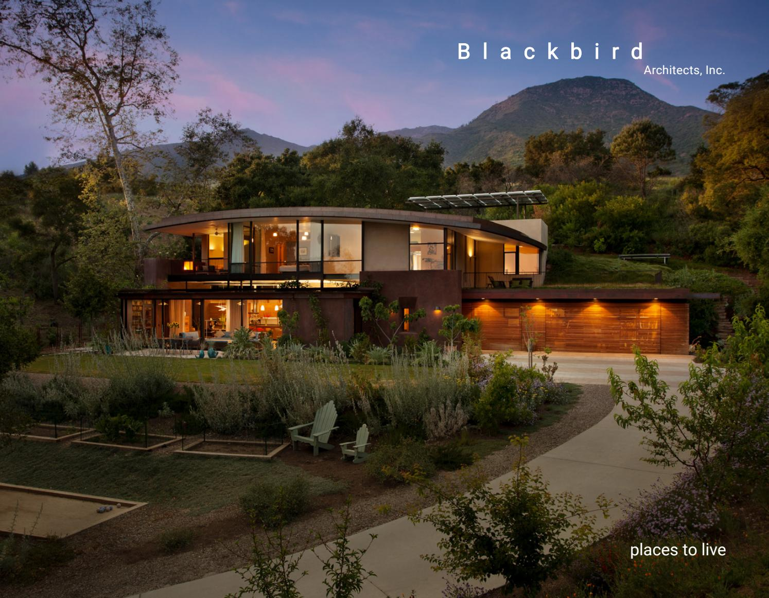 Blackbird Architectsu0027 Residential Brochure By Blackbird Architects   Issuu