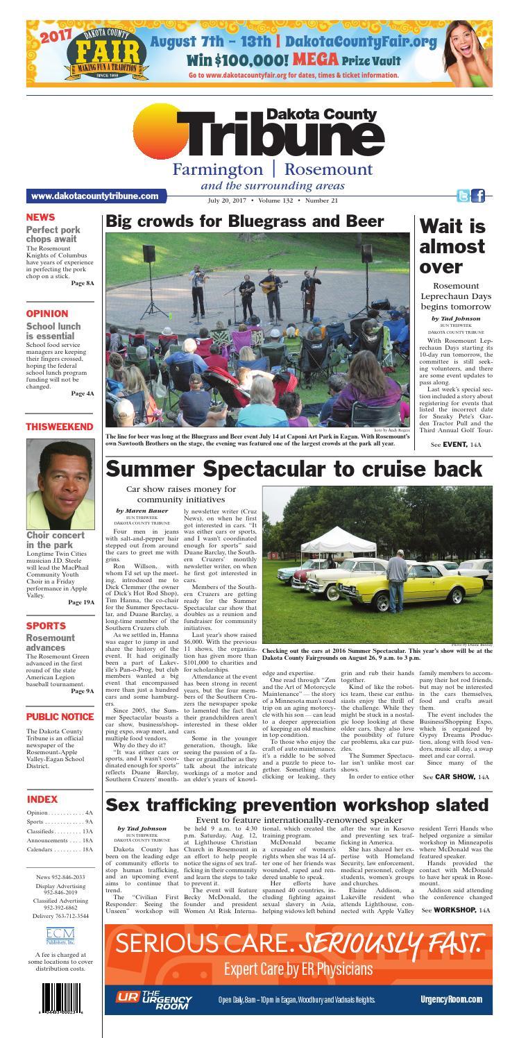 Dct7 17 By Dakota County Tribune Issuu