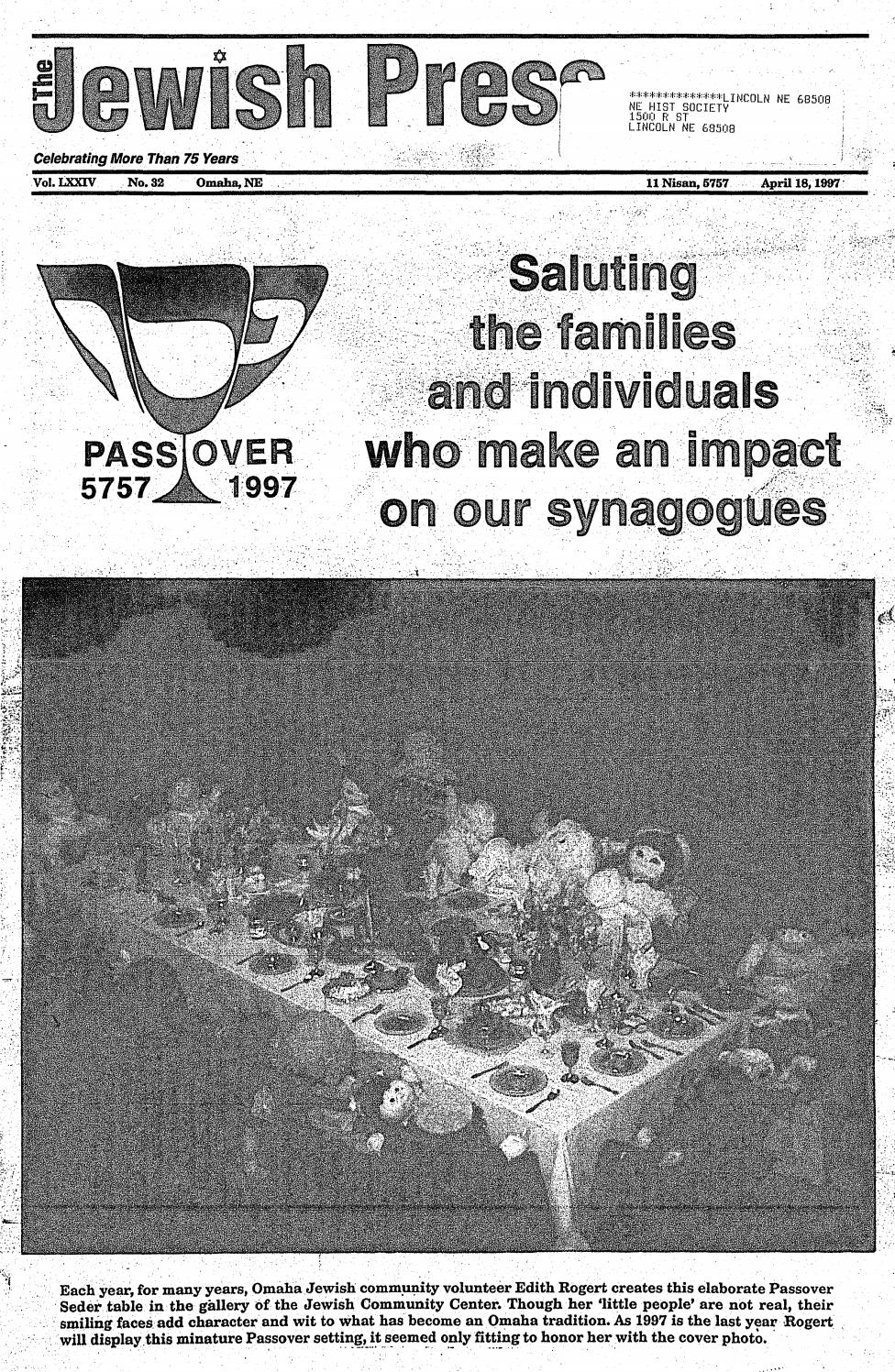 April 18 1997 Passover Edition By Jewish Press Issuu