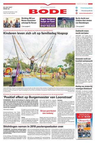 Steenbergse Bode 26-07-2017 by Uitgeverij de Bode - issuu 3a4ffcbe65