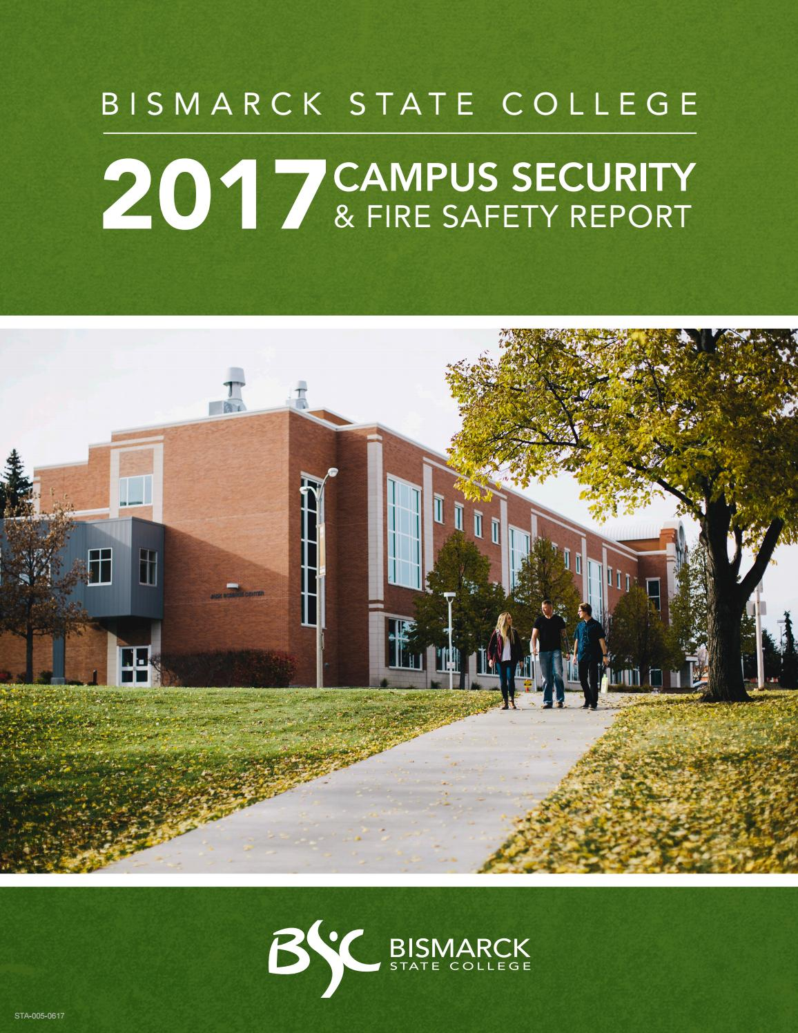 2017 Campus Security And Fire Safety Report By Bismarck