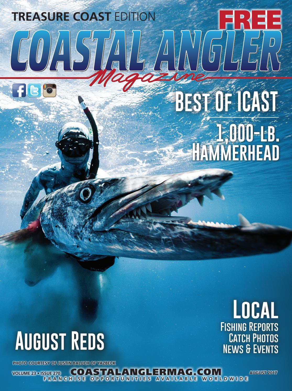 81b4fd8c154 Coastal Angler Magazine - August / Treasure Coast by Coastal Angler  Magazine - issuu