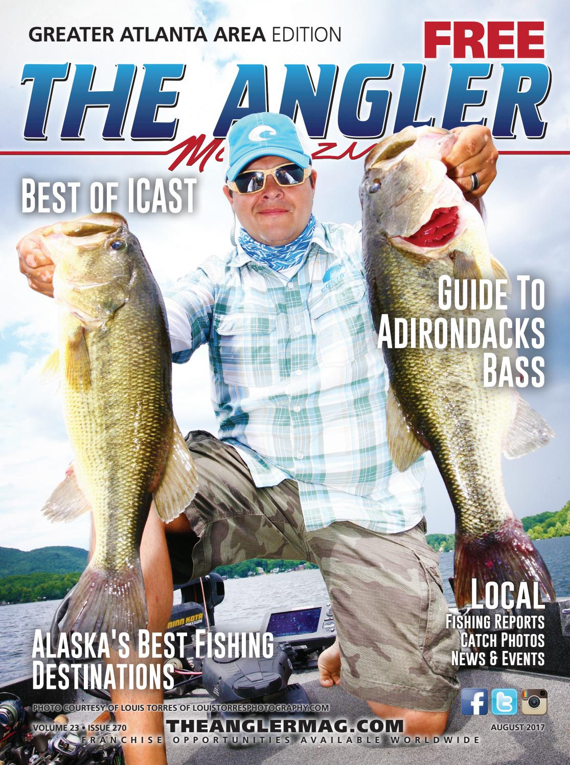f47e022d3fc The Angler Magazine - August / Greater Atlanta by Coastal Angler Magazine -  issuu