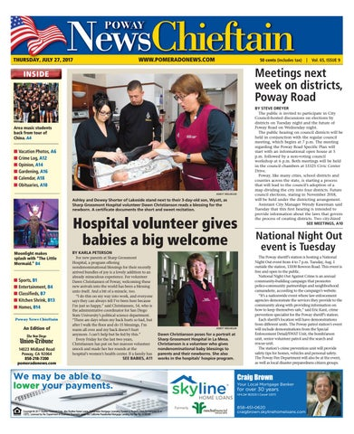 Poway News Chieftain 07 27 17 By MainStreet Media