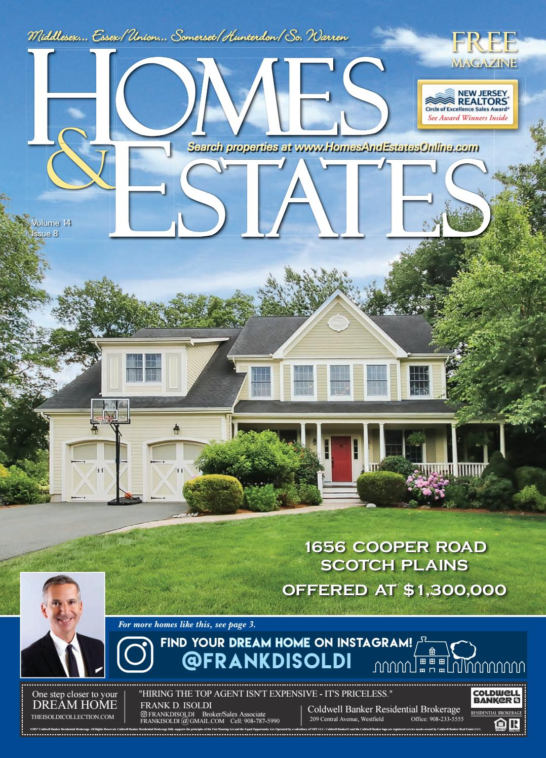Homes & Estates Magazine - Central New Jersey Edition July