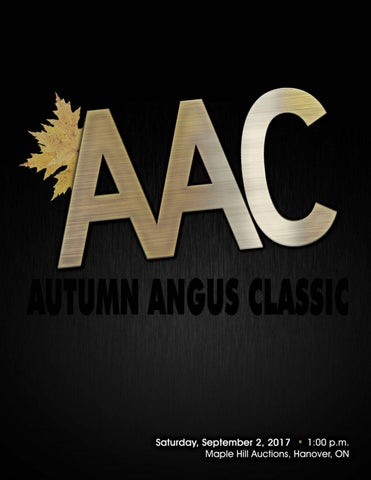 Autumn Angus Classic Sale by Today's Publishing Inc  - issuu