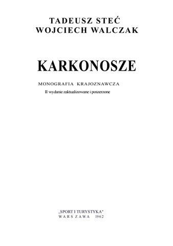 1f64e8ad Stec tadeusz karkonosze monografia krajoznawcza compressed by ciotas ...