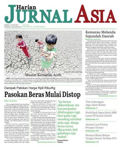 Harian Jurnal Asia Edisi Kamis 27 Juli 2017 By Harian Jurnal Asia Medan Issuu