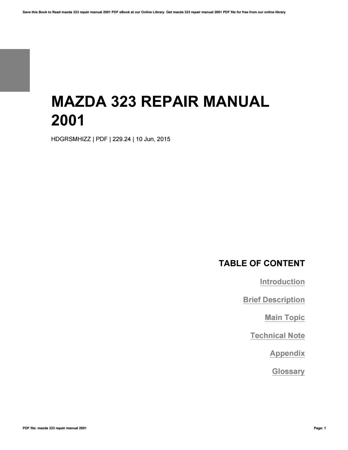 haynes workshop manual mazda premacy