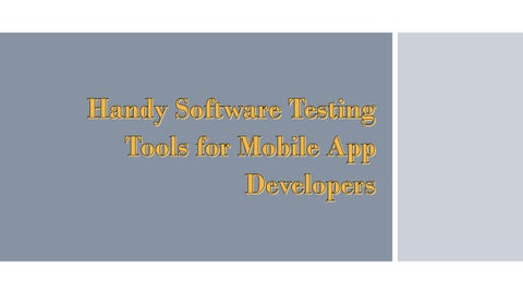 handy software test