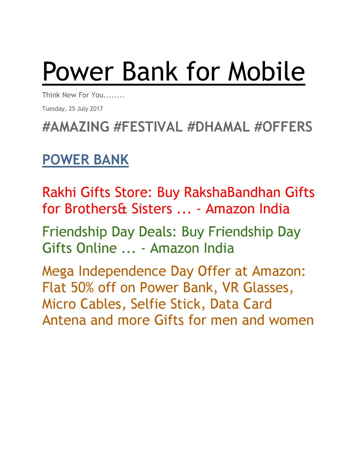 Amazing Offer At Amazon Rakhi Special By Neeta Raghuwanshi Issuu
