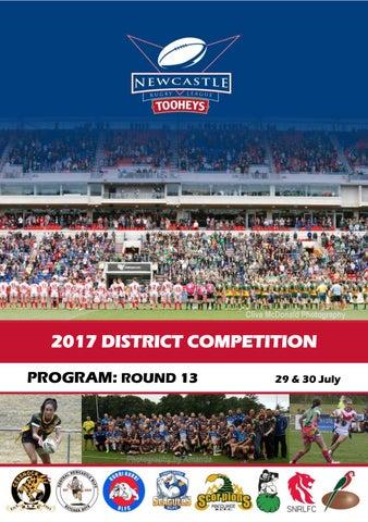 8637ed21702 Program Rd 13 - Tooheys Newcastle RL by Newcastle Rugby League - issuu
