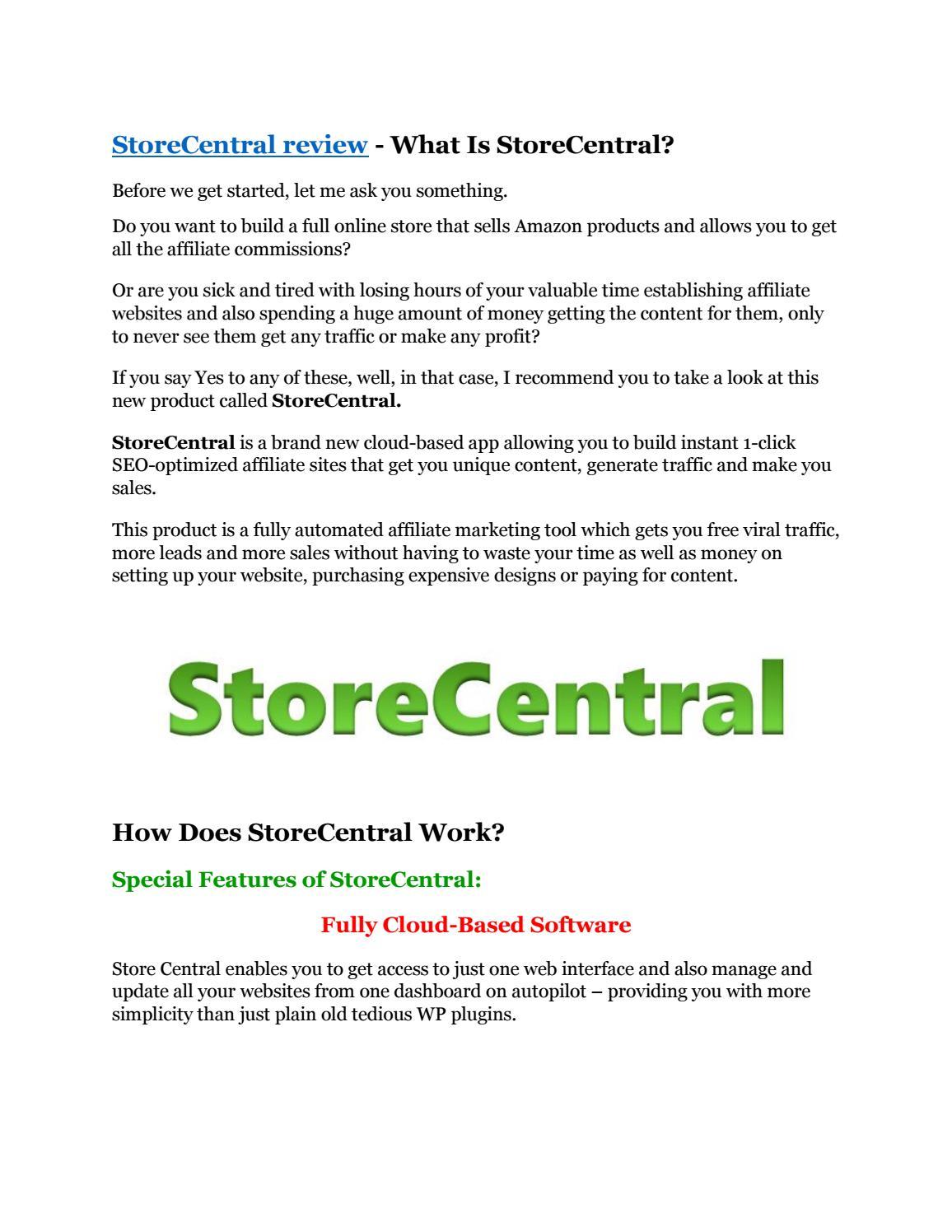 StoreCentral Review & GIANT bonus packs by cikinoke - issuu