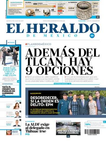El Heraldo De México 27 De Julio De 2017 By El Heraldo De