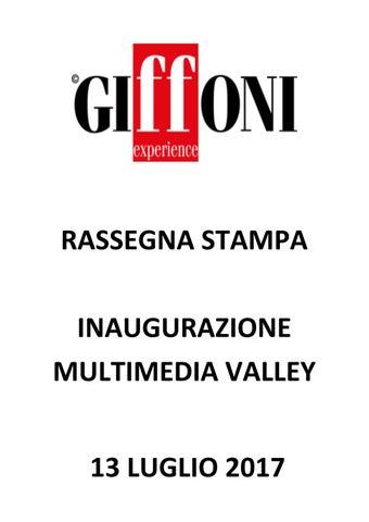 Rassegna Stampa 13 Luglio 2017 Giffoni Film Festival By Giffoni