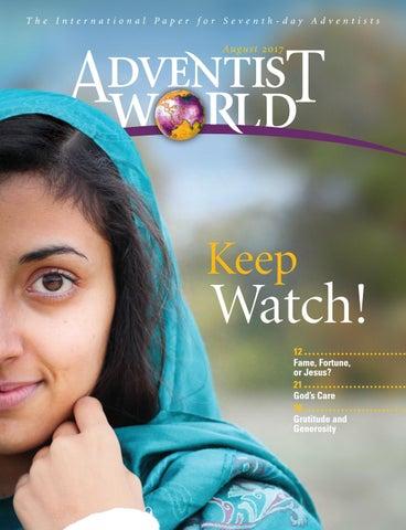 AW English - August 2017 by Adventist World Magazine - issuu