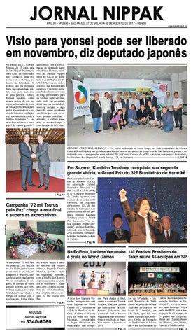 457718ce91 Jornal Nippak Ed 27 de Julho de 2017 by Nippak JN - issuu