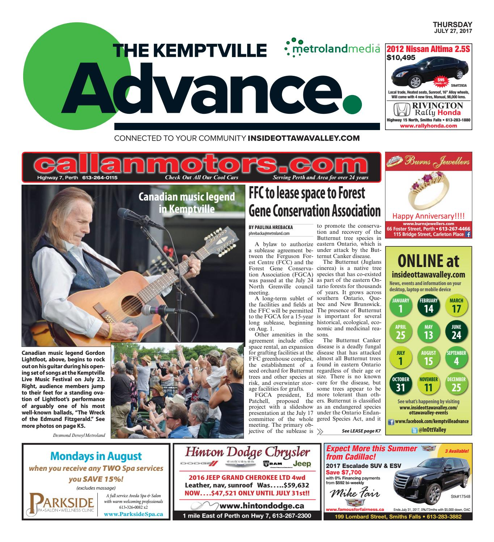 Kemptville072717 By Metroland East Kemptville Advance Issuu